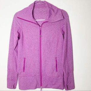 Lululemon In Stride Jacket Heathered Ultra Violet
